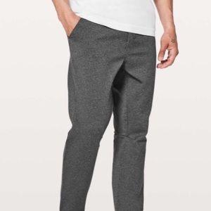 lululemon Men's Heathered Grey Pant